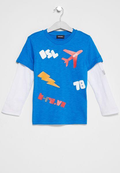 Kids Todlek Printed T-Shirt