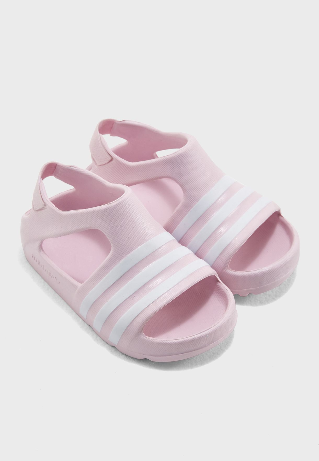 0b0060714356 Shop adidas Originals pink Adilette Play Infant CQ2884 for Kids in ...