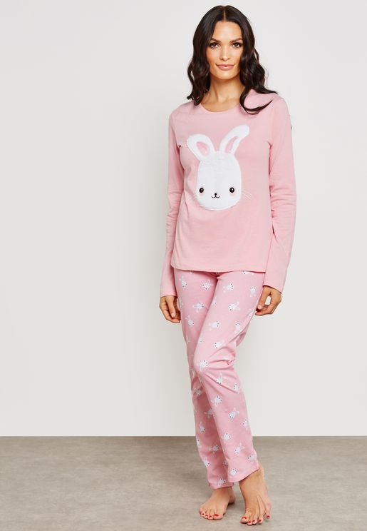 Rabbit Pyjama Set