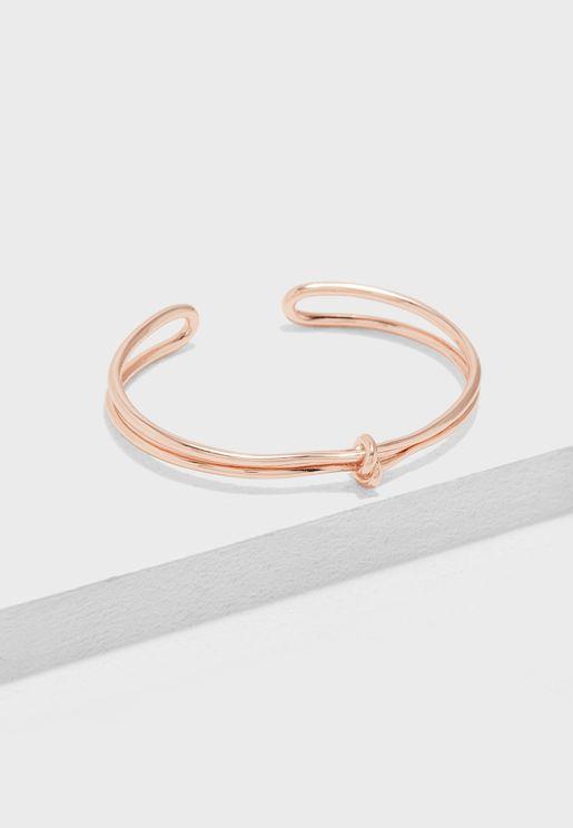 Forget Me Knot Bracelet