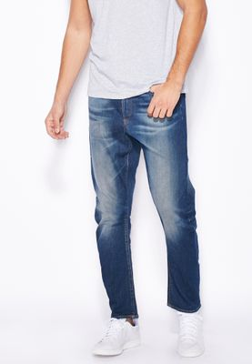 G-Star Raw Wils Stretch Relaxed Mid Wash Jeans