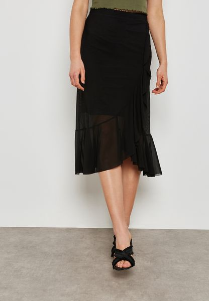 Frill Wrapped Skirt