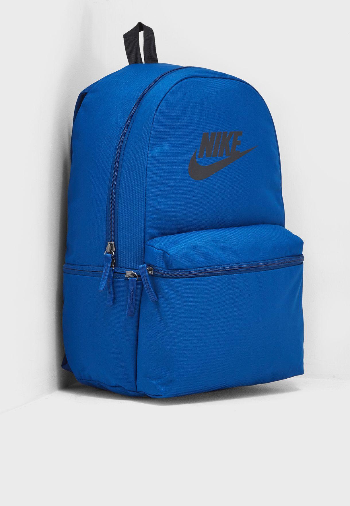 b274414c1b04 Shop Nike blue Heritage Backpack BA5749-431 for Men in UAE ...