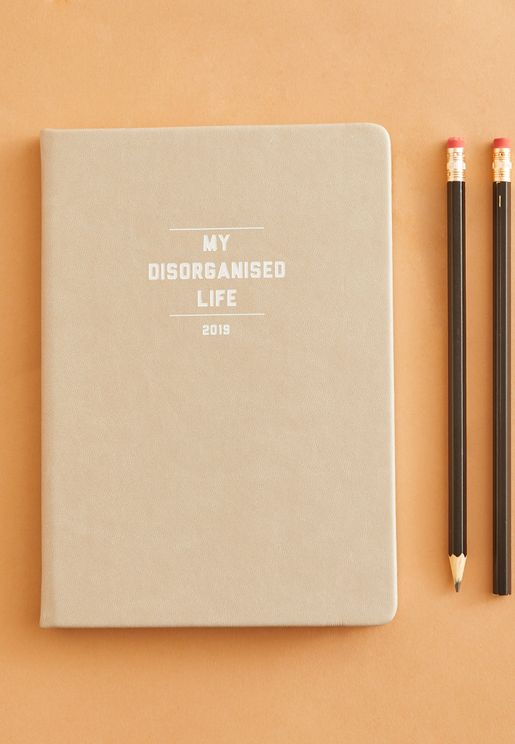 A-5 Dis-organised Life 2019 Weekly Diary