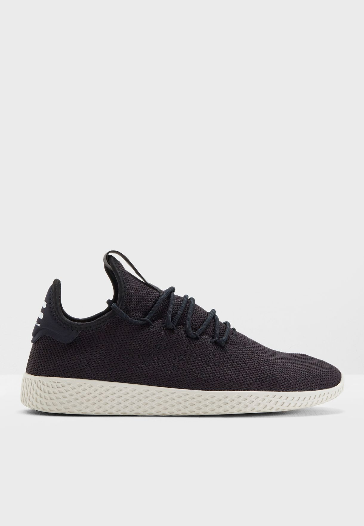 035a012133cb7 Shop adidas Originals black Pharrell Williams Tennis Hu AQ1056 for Men in  Saudi - AD478SH65WDM