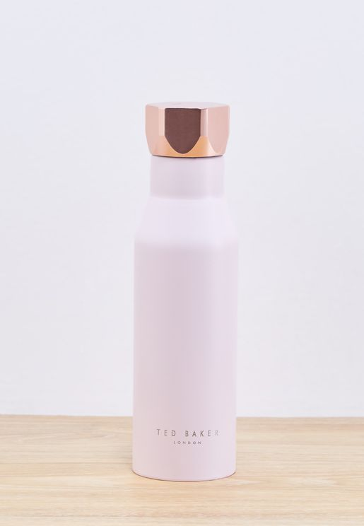 Pink Quartz Water Bottle
