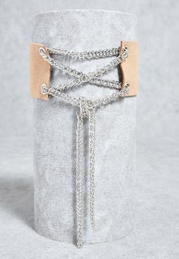 Chain Detail Choker