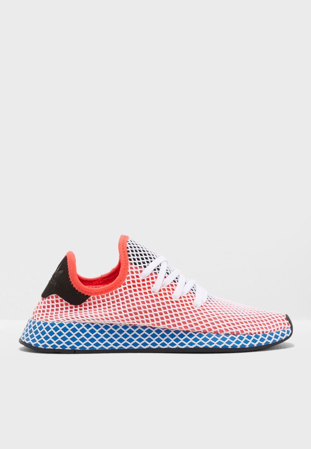 new style 413b2 0a586 Shop adidas Originals multicolor Deerupt Runner CQ2624 for M