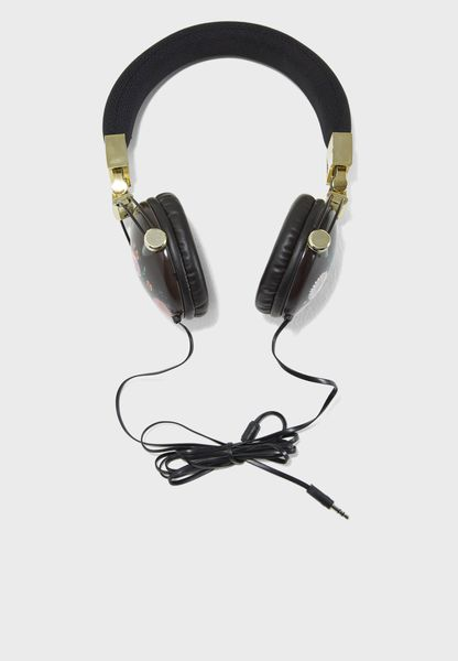 Oriental Floral Tune Out Headphones