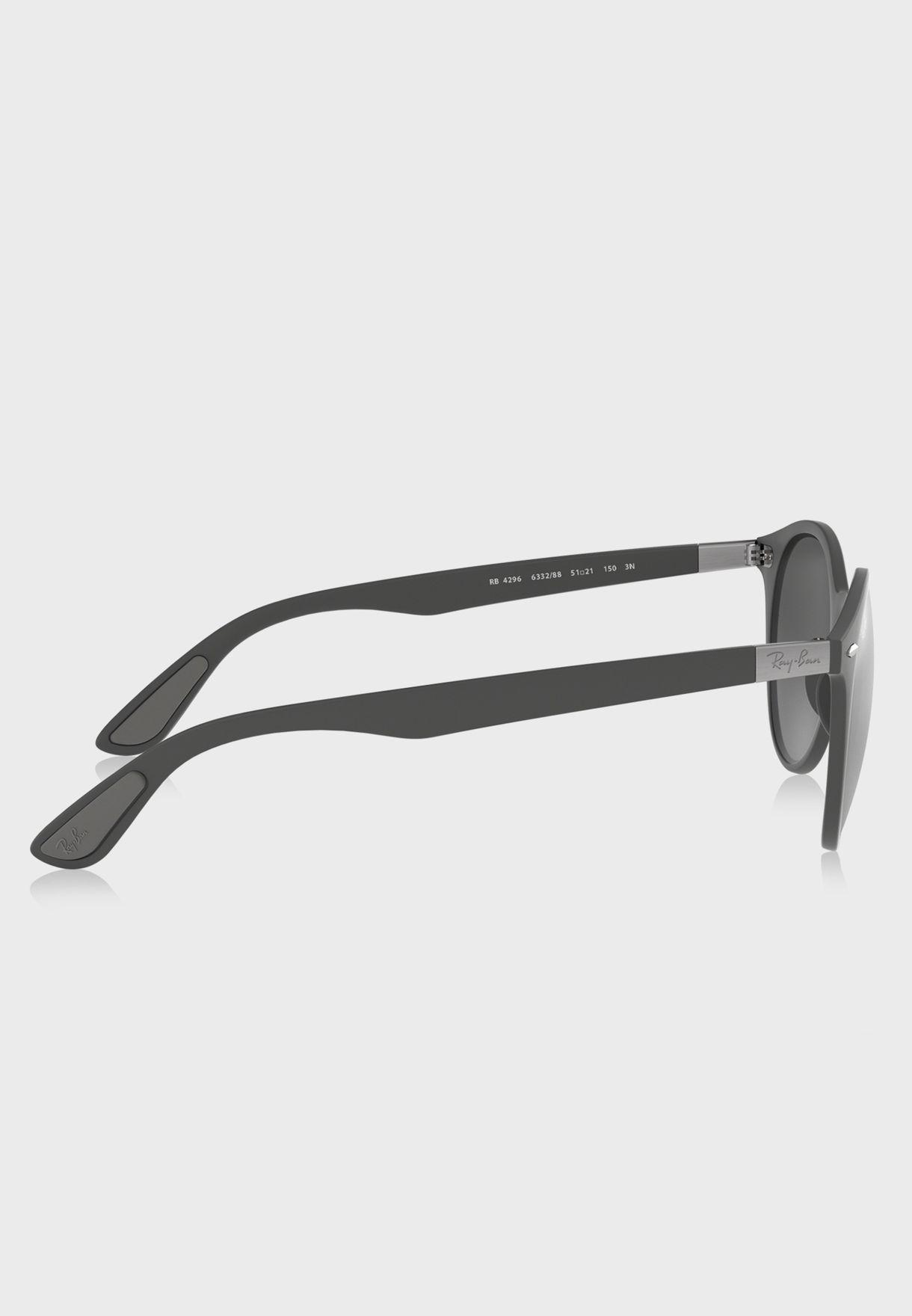 0RB4296 Round Sunglasses