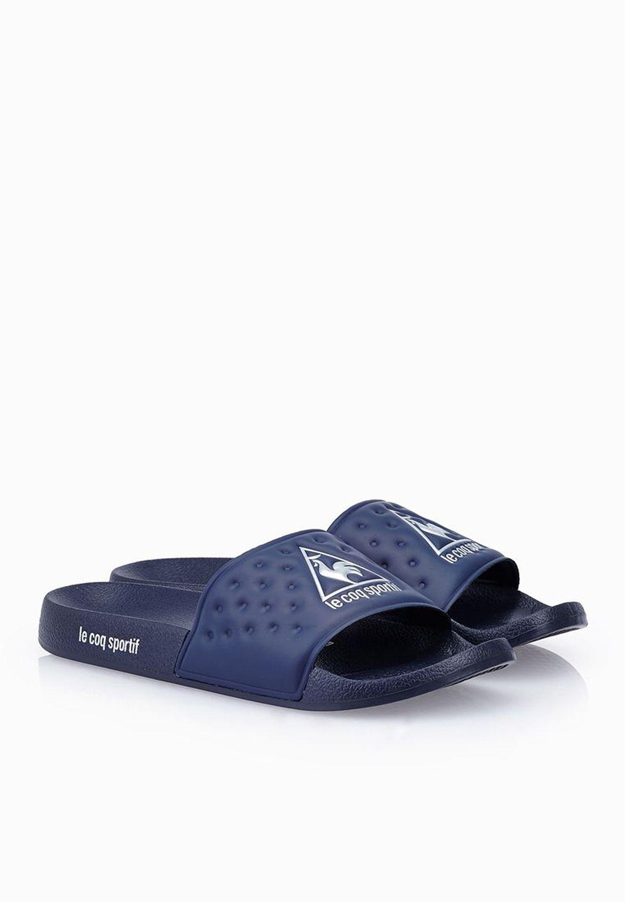 314e72a04005 Shop Le Coq Sportif blue Laclaquette Sandals for Men in Kuwait ...