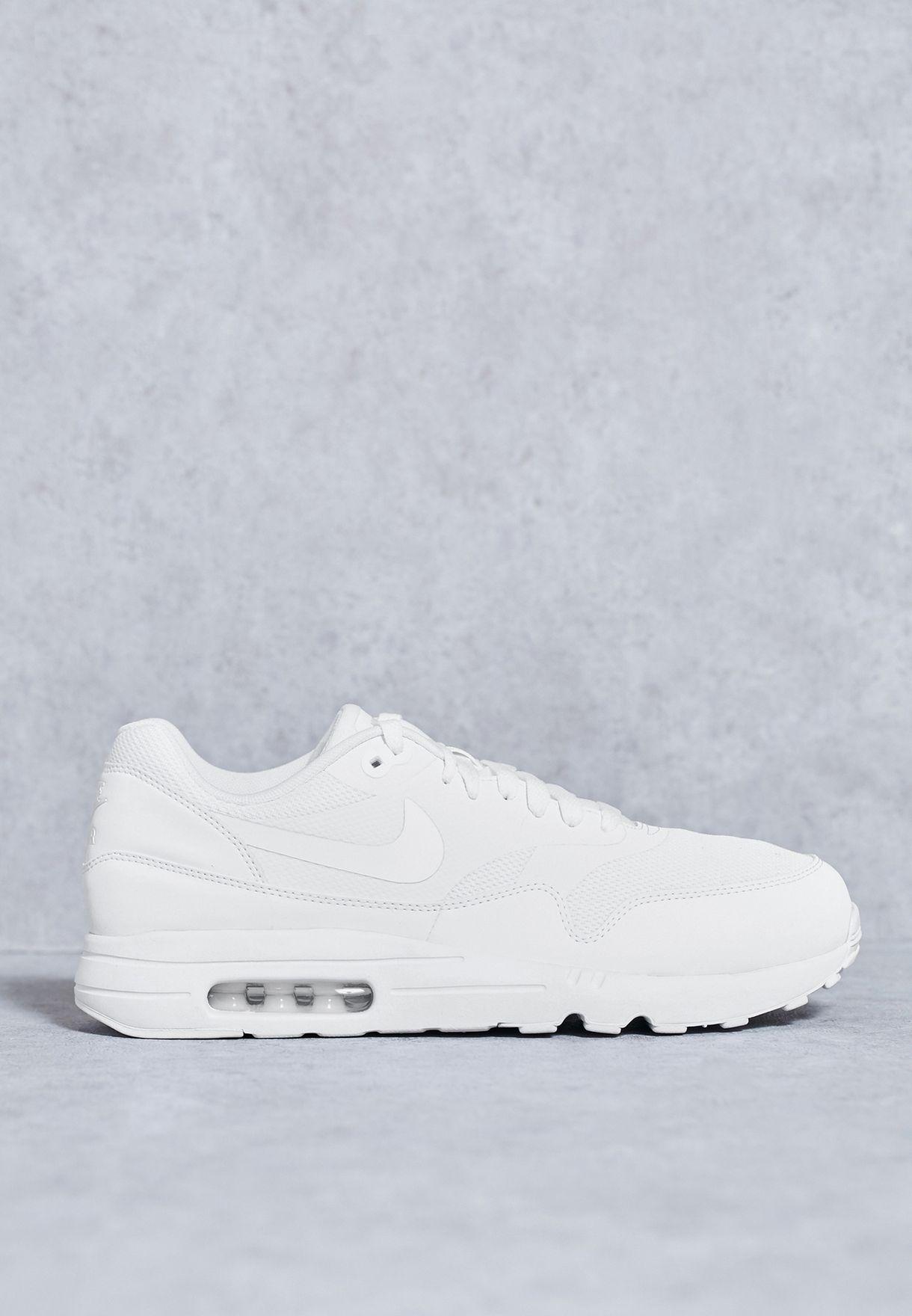 6a1a1bc8812b4 Shop Nike white Air Max 1 Ultra 2.0 Essential 875679-100 for Men in ...