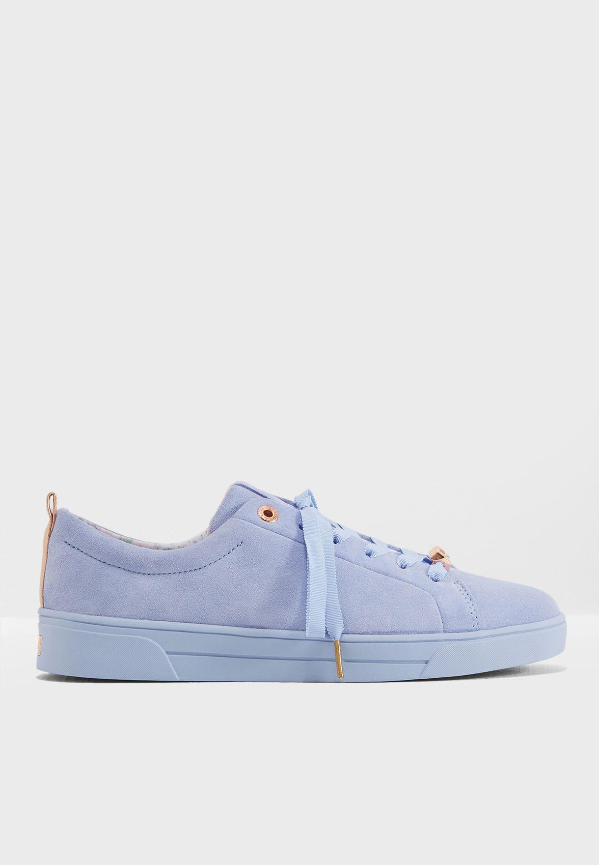 46c9c703bc7f5e Shop Ted baker blue Kelleis Casual Sneaker 917198 for Women in UAE ...