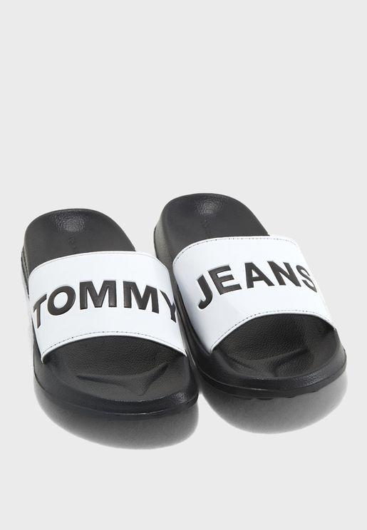 Tommy Jeans Logo Slide