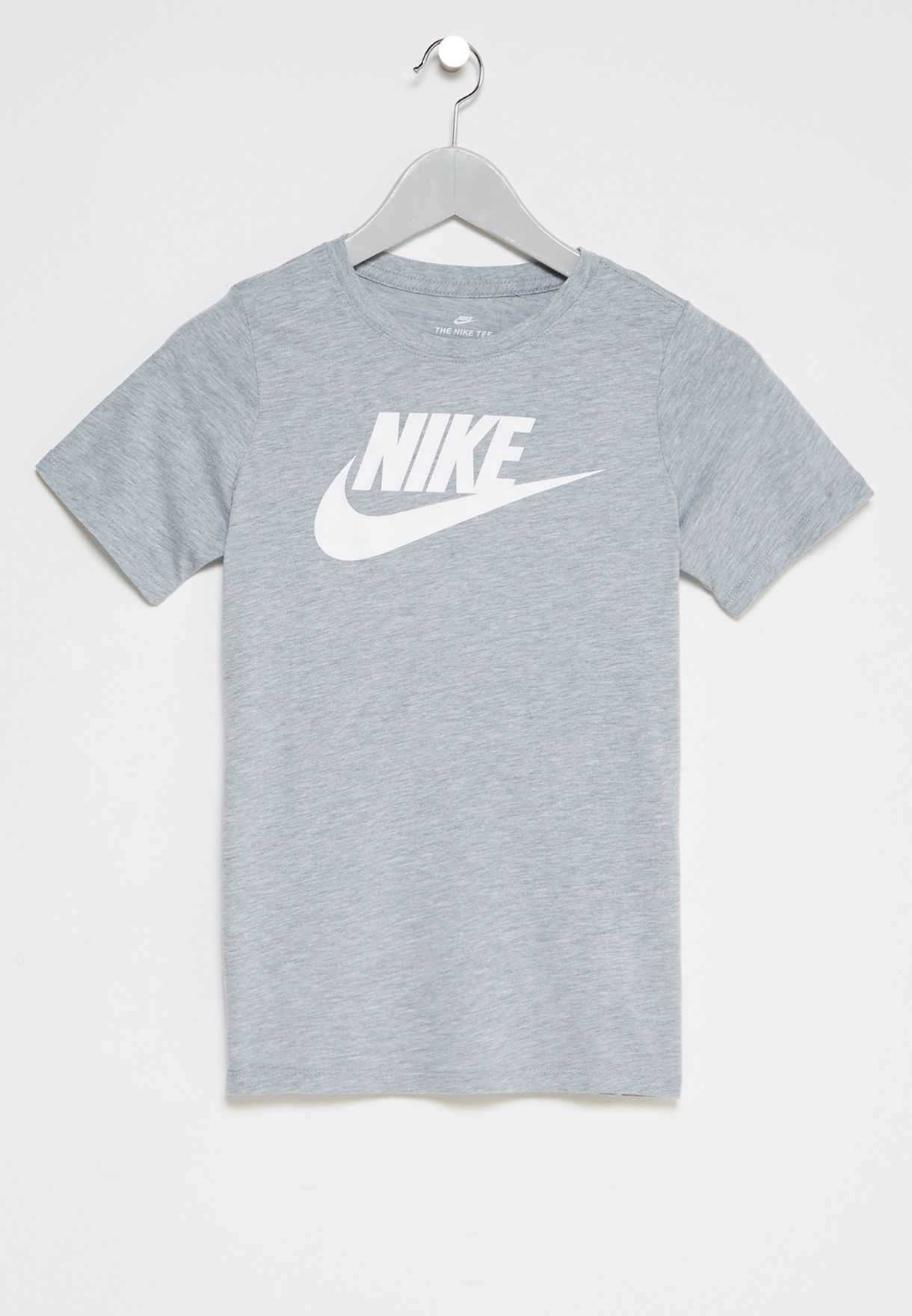 d7ba41ff Shop Nike grey Youth Futura T-Shirt 862660-063 for Kids in Kuwait ...