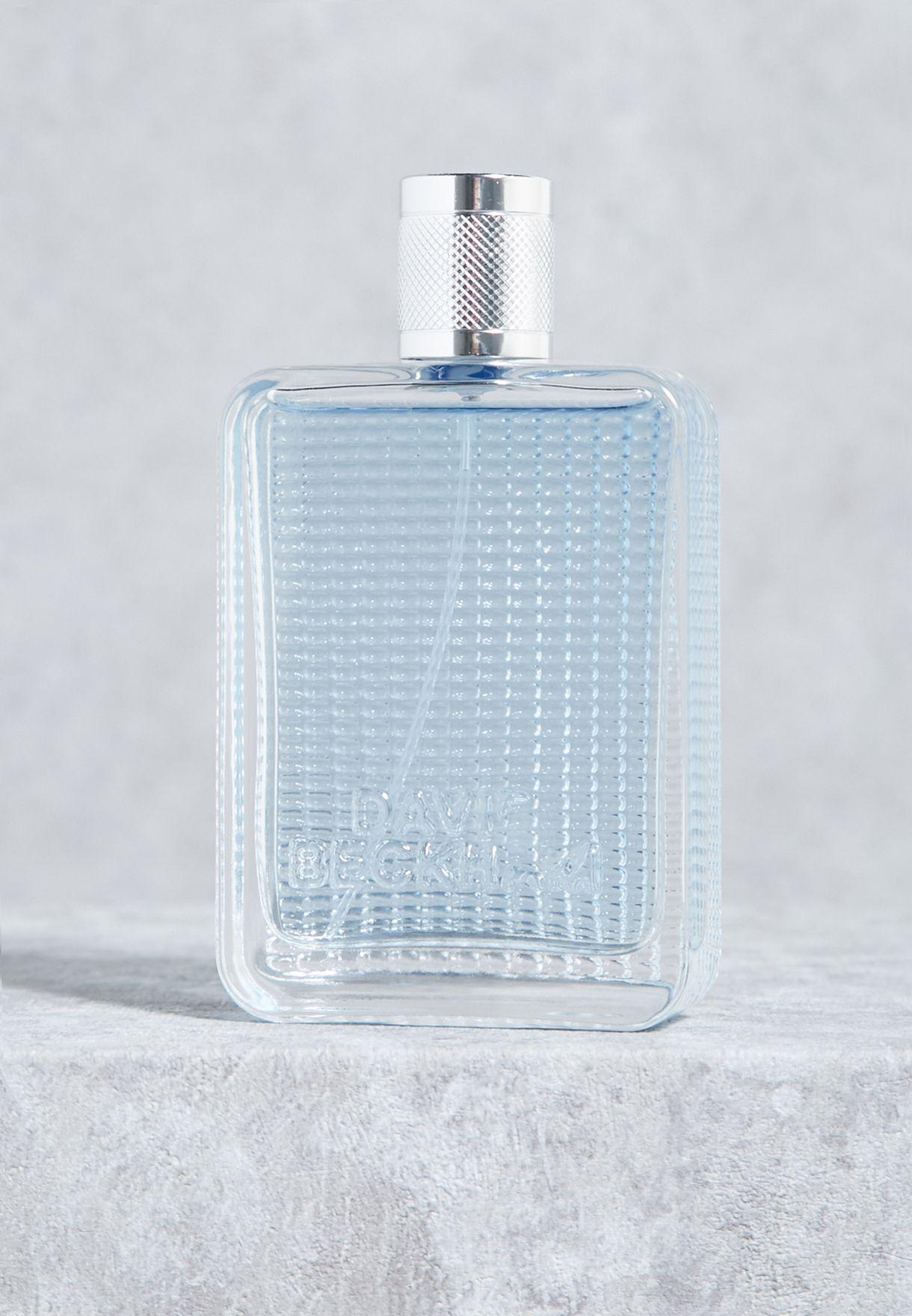 Shop David Beckham Blue The Essence 75ml Edt 15982291005 For Men In