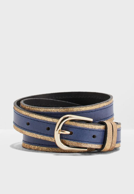 Lonni Suede Jeans Belt