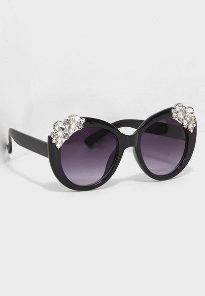 Dia Encrusted Sunglasses