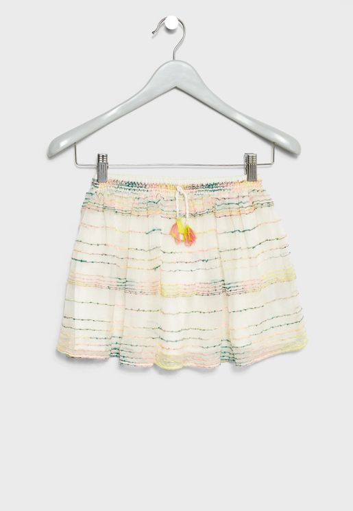 Little Joana Striped Skirt