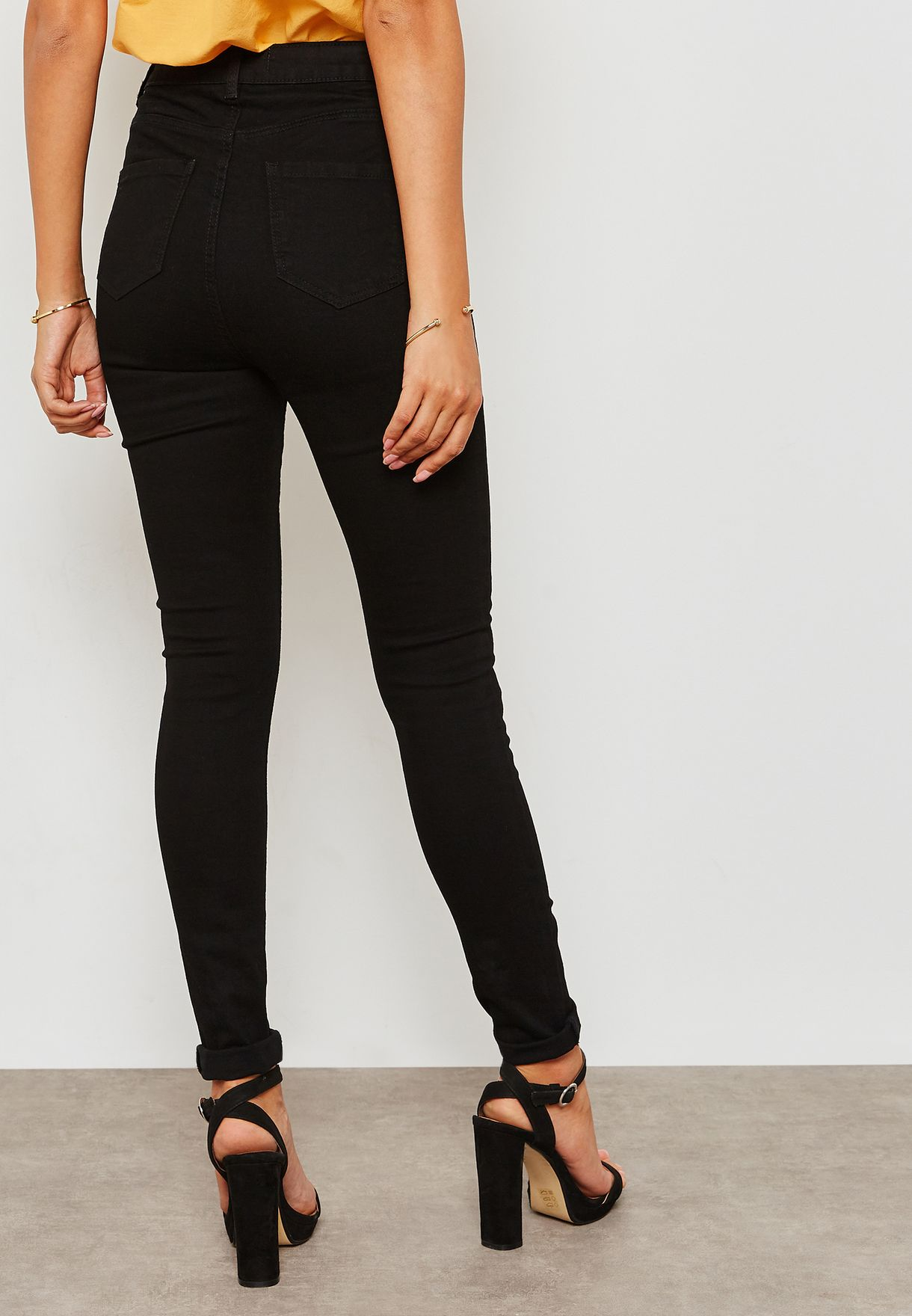 High Rise Shaping Skinny Jeans