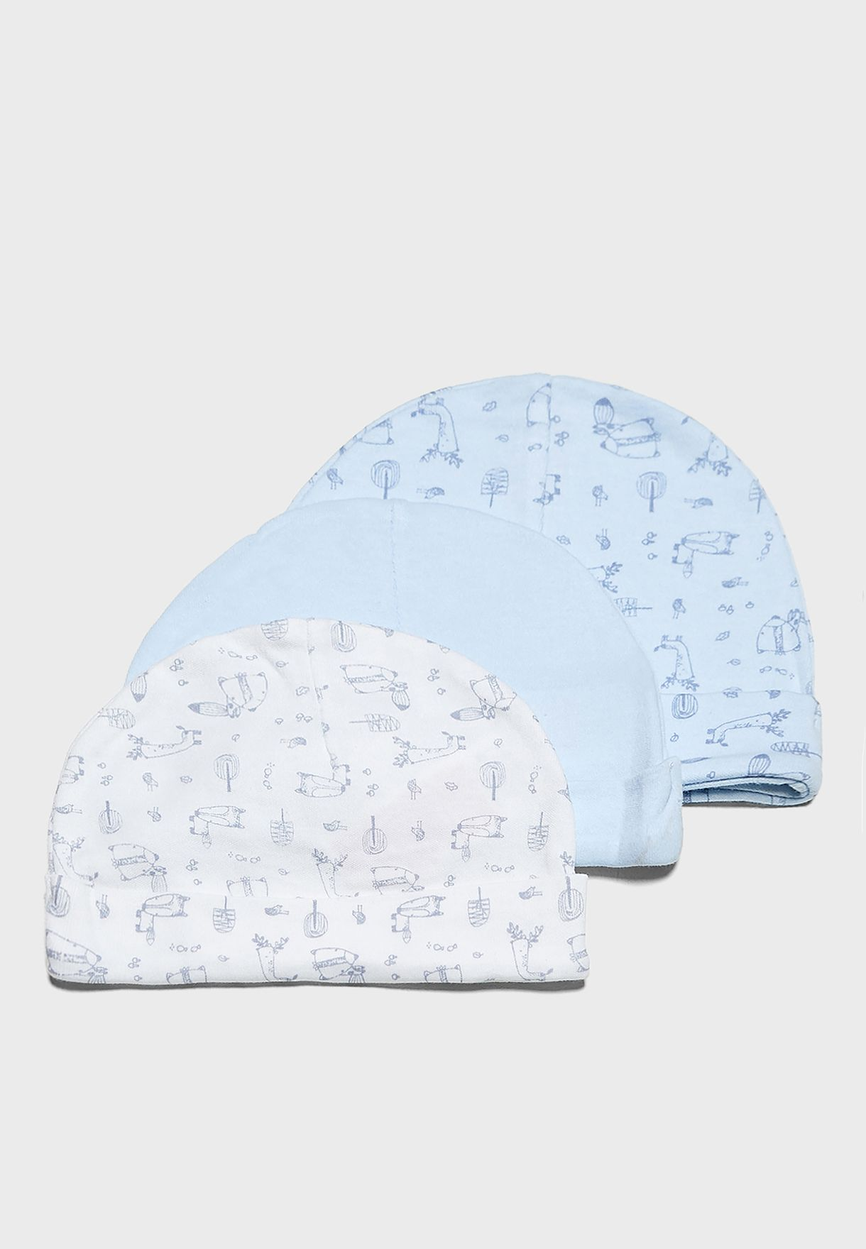 Infant 3 Pack Hats