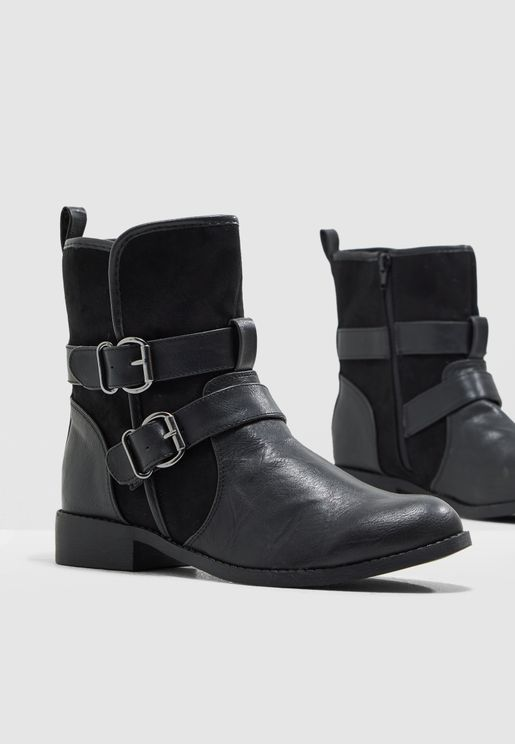 Bark Ankle Boot