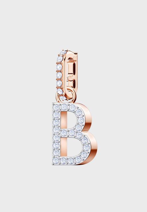 Swa Remix B-Alphabet Charm