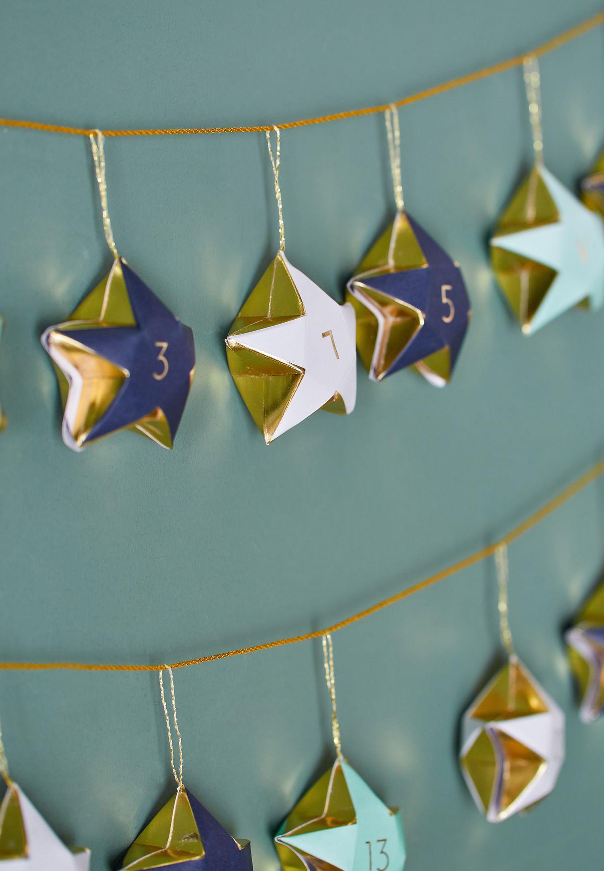 تقويم شهر رمضان (ثلاثين نجمة)