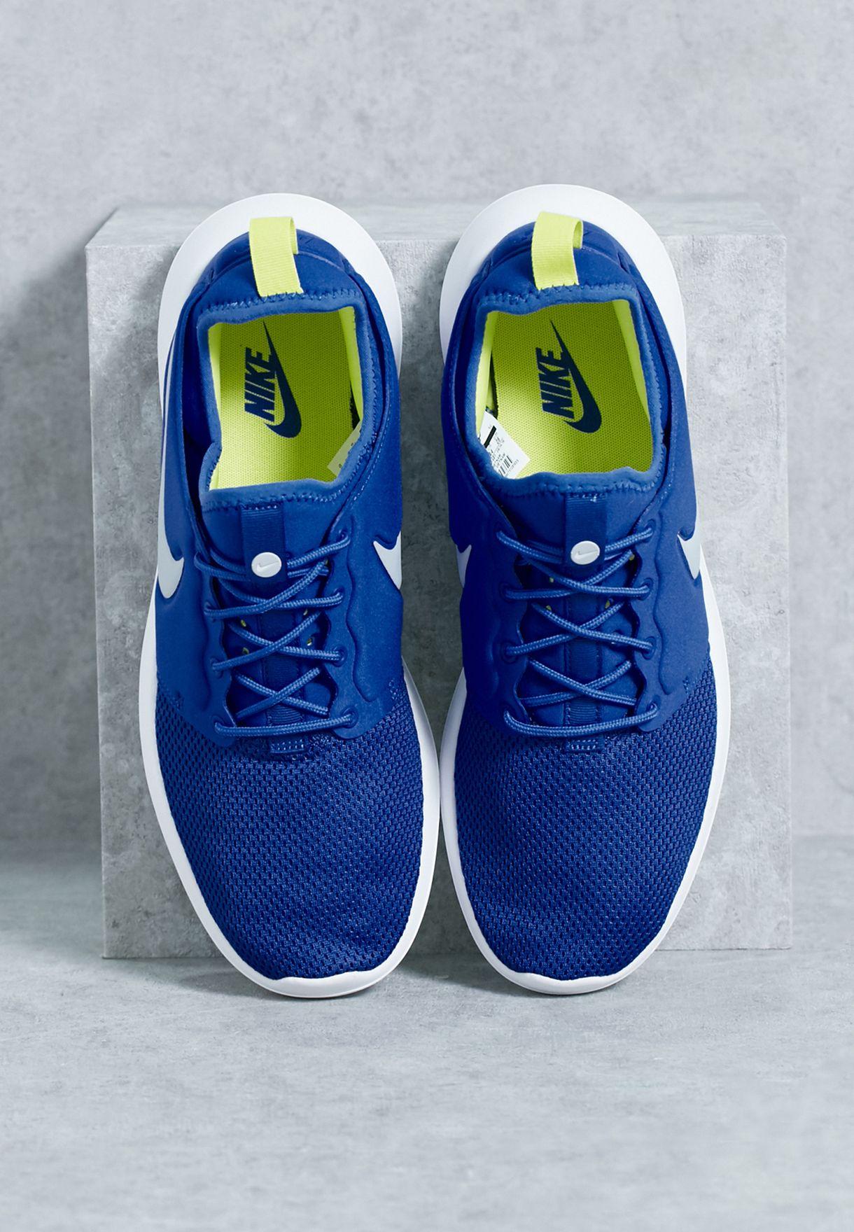 028b9afc0 Shop Nike blue Roshe Two 844656-401 for Men in Bahrain - NI727SH65ZES