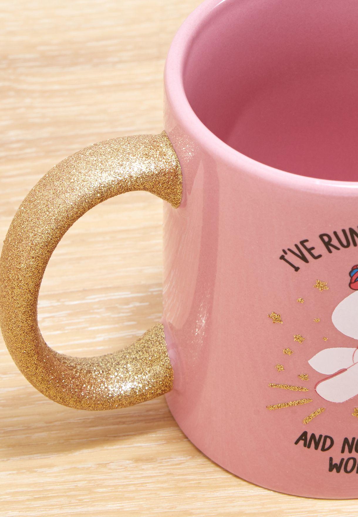 Unicorn Glitter Mug