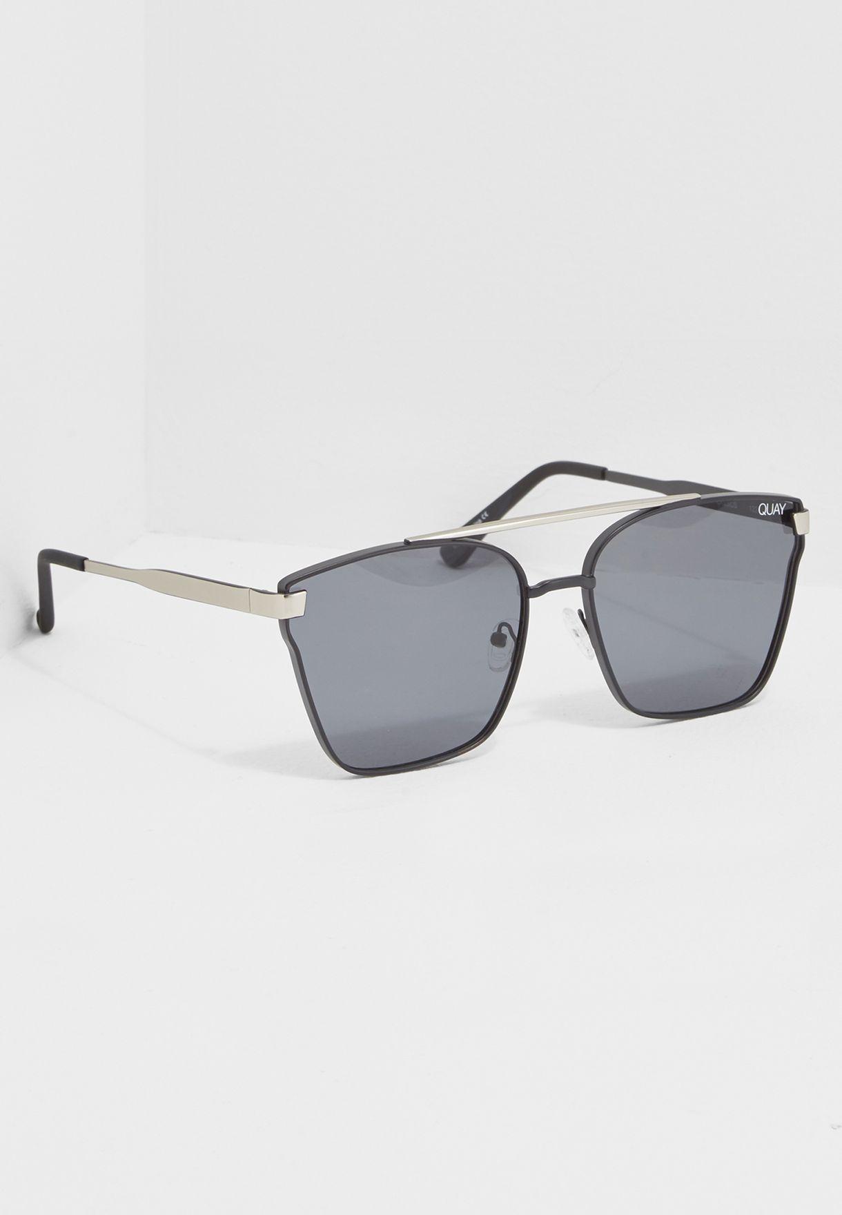 89be329f0b Shop Quay Australia black Cassius Sunglasses QM-000196 for Men in ...