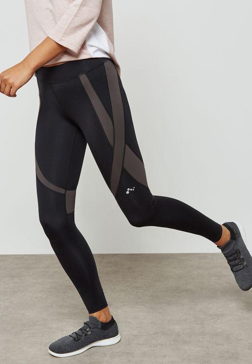 Mesh Detail Leggings