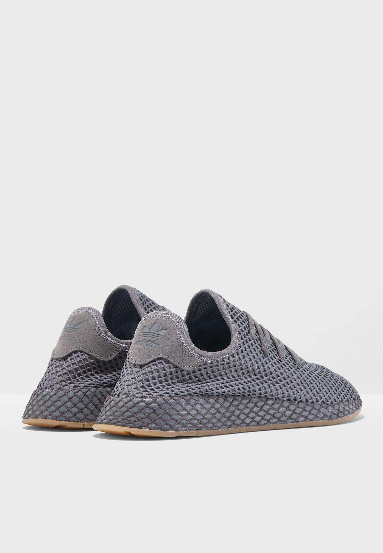 1ae49b97abbab Shop adidas Originals grey Deerupt Runner CQ2627 for Men in UAE ...