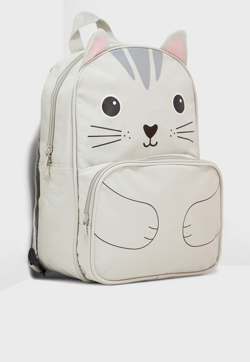 Kids Cat Backpack