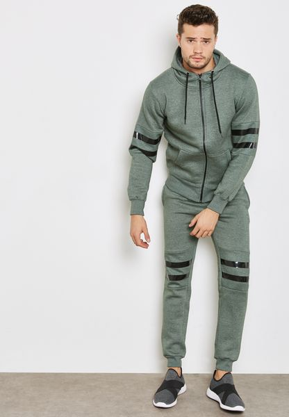 Striped Skinny Fit Tracksuit
