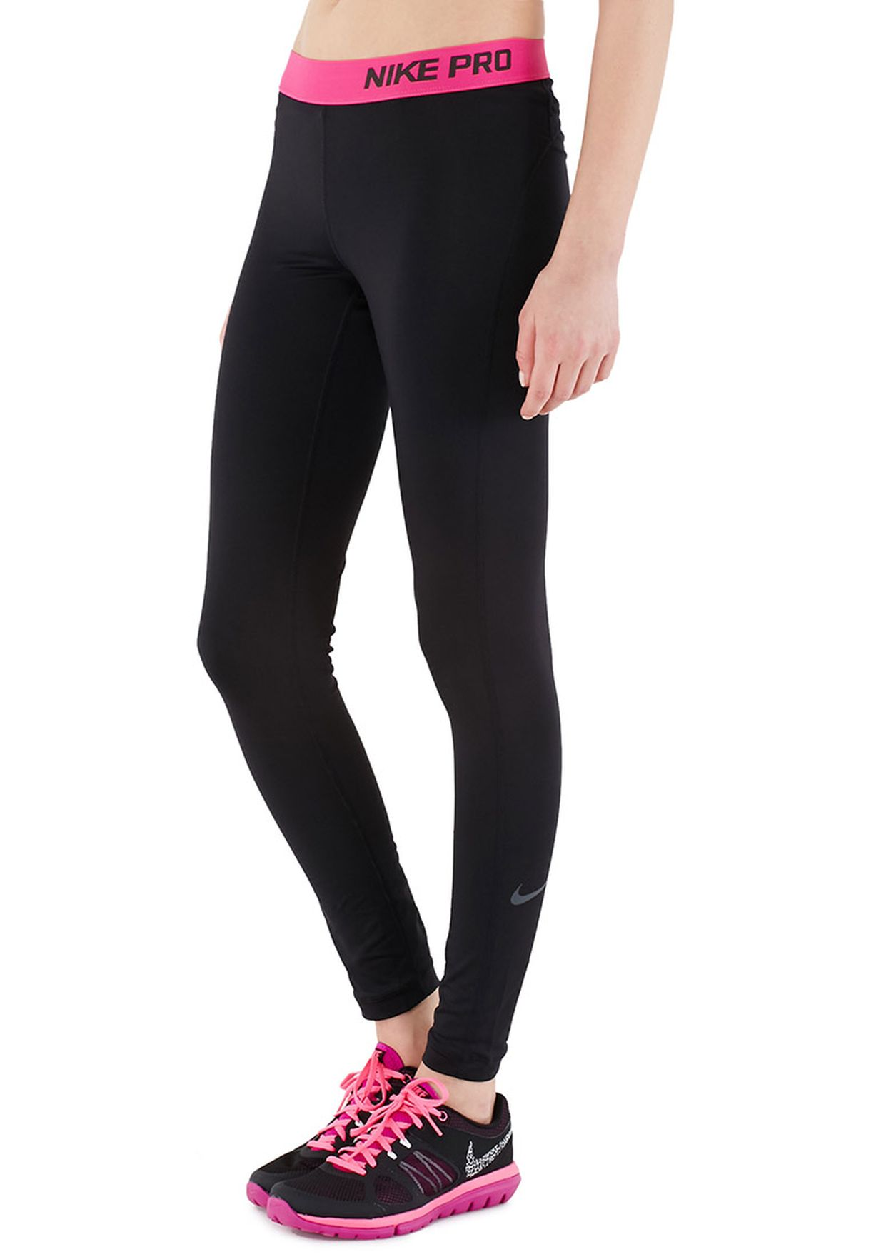 abee8247584ce Shop Nike black Pro Tights 589367-011 for Women in Kuwait - NI727AT55JGY