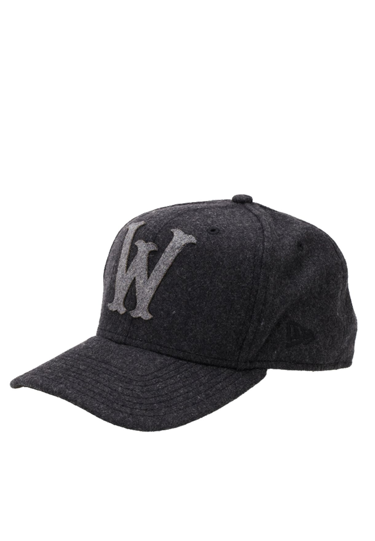0383440ea9f Shop Wesc black W Snapback Cap for Men in Bahrain - WE833AC55RTG