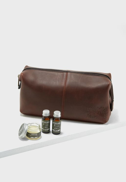 Beard Wash Bag Kit