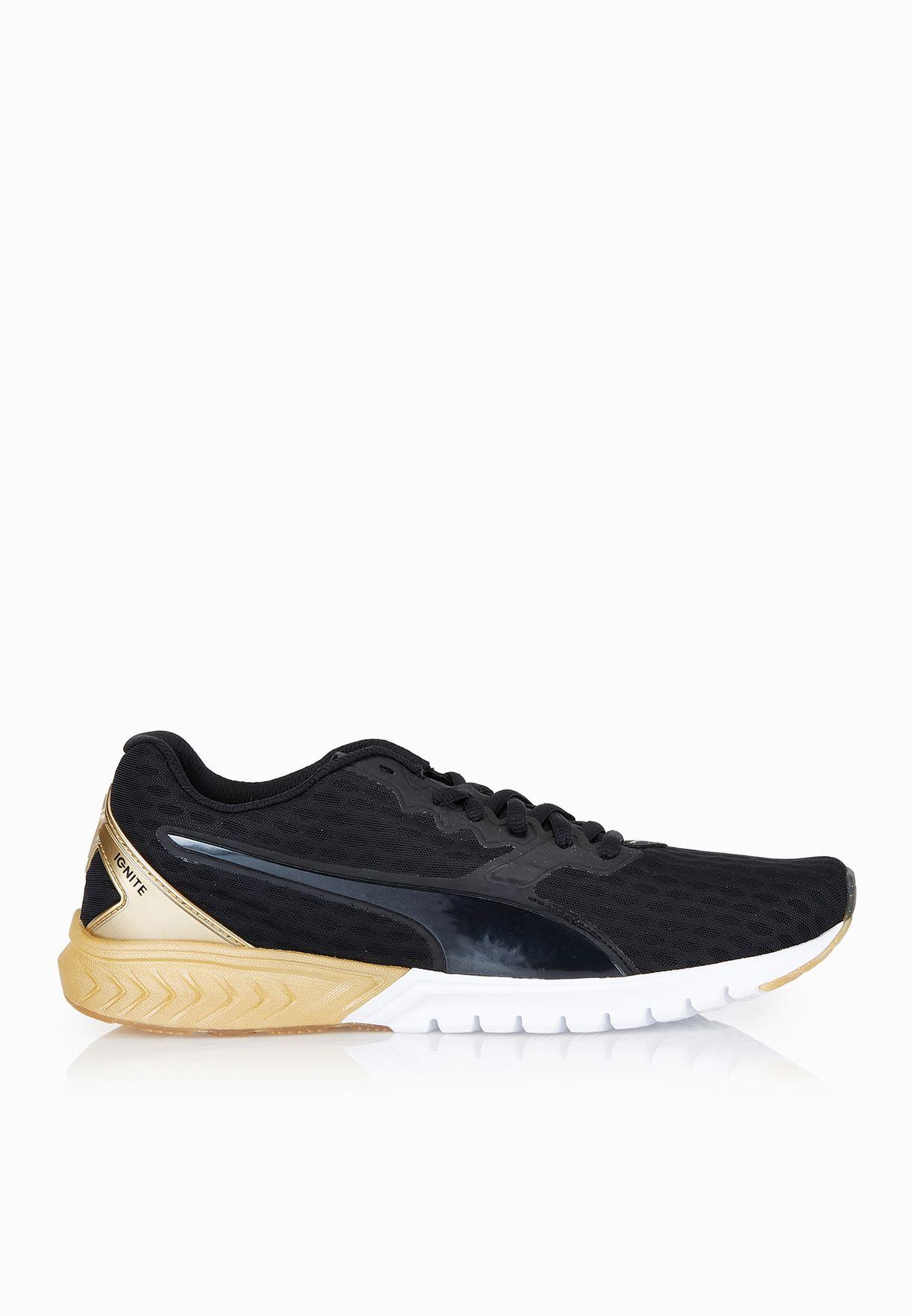 45aec196ee8 Shop PUMA black Ignite Dual Gold 18915302 for Women in Qatar - PU020SH55ZWM