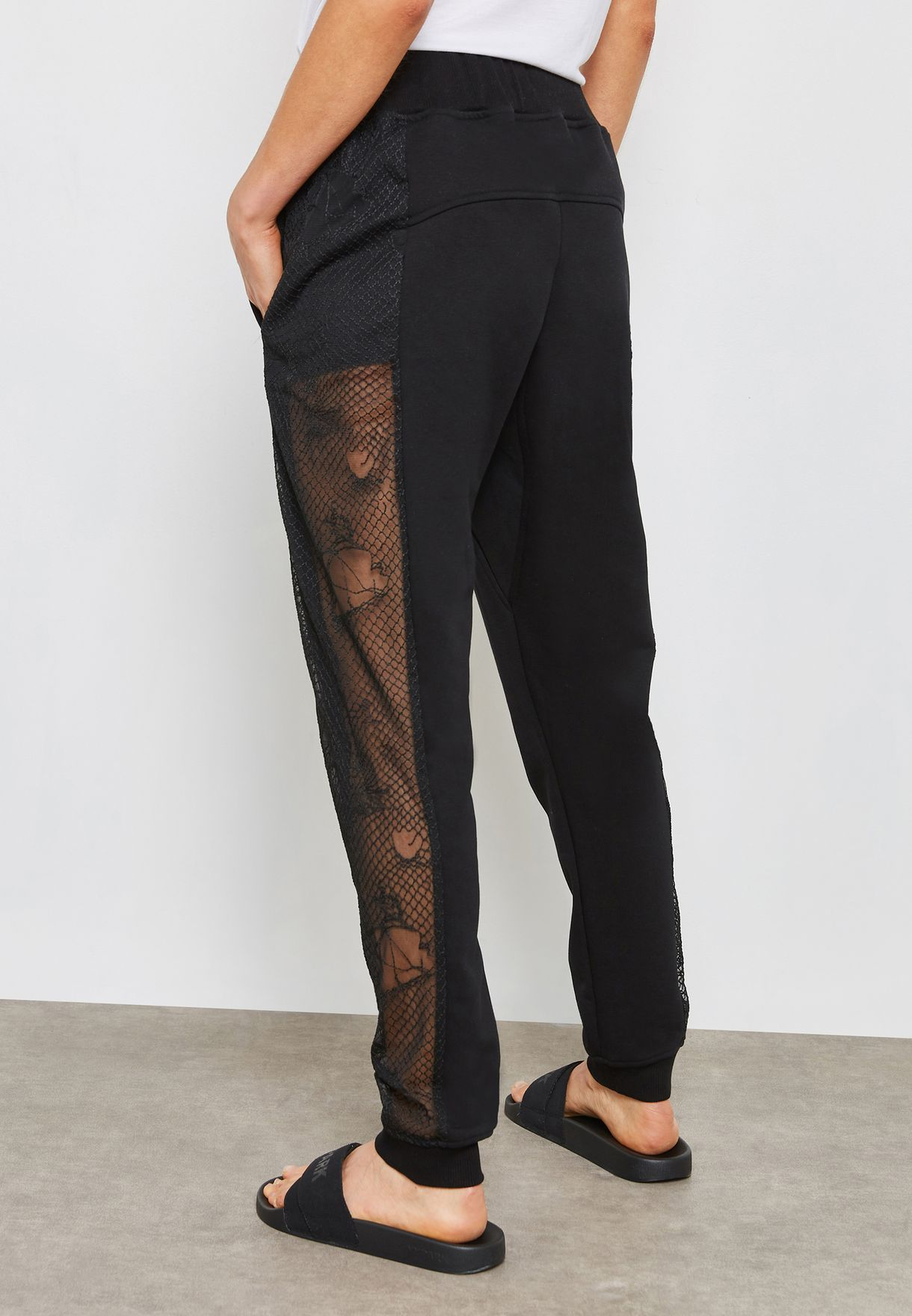 Lace Detail  Sweatpants