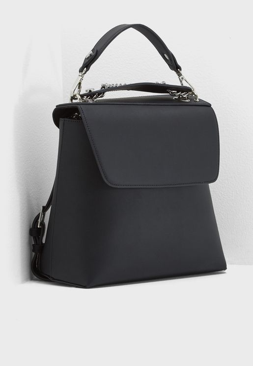 Chain Strap Backpack