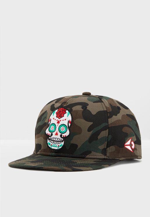 Skull Camo Cap