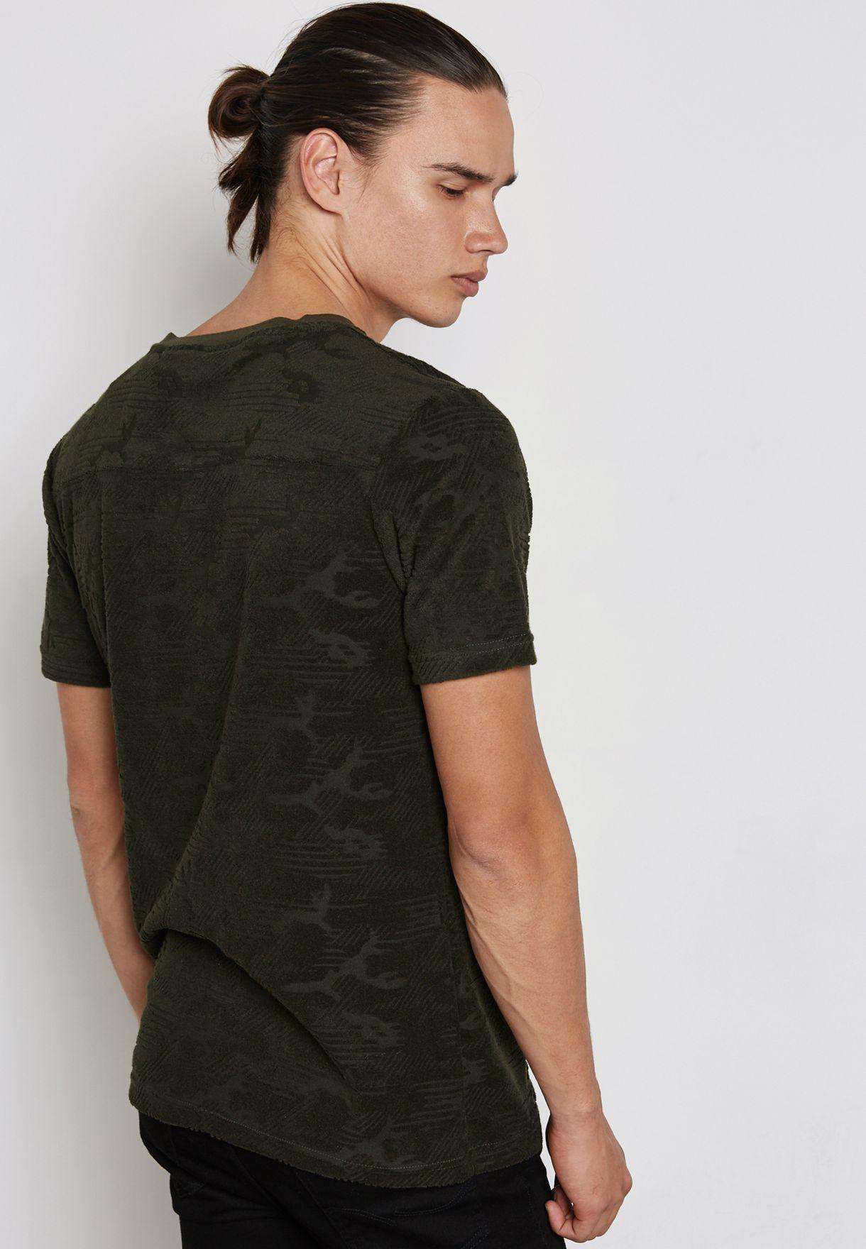 Rod Camo Print T-Shirt