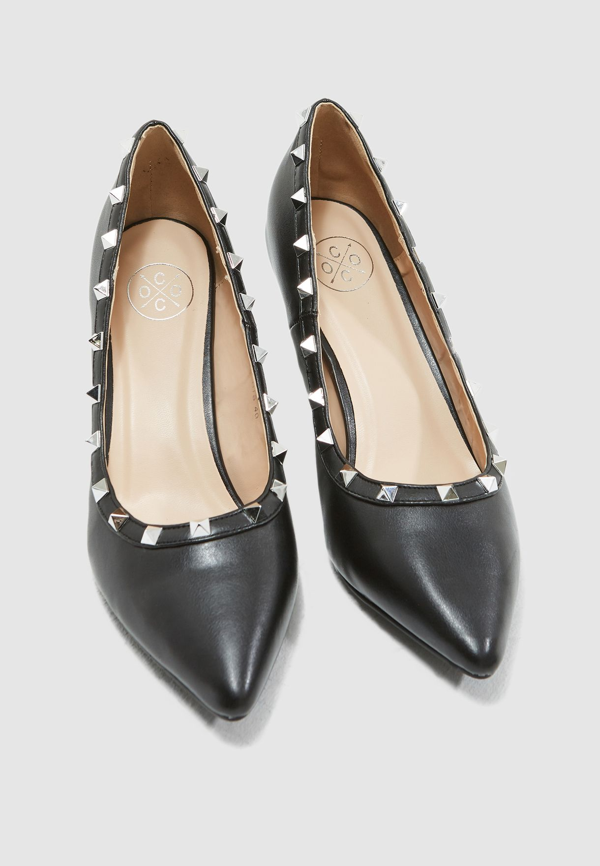Sachi Studded Pumps