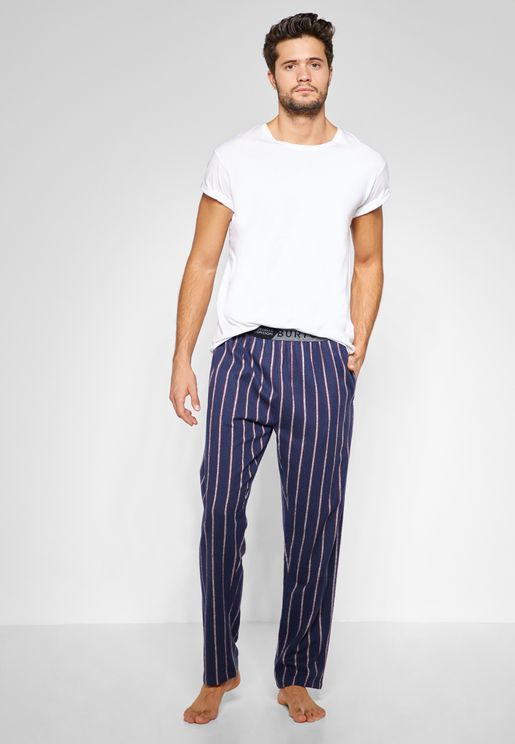 Stripe Lounge Pants