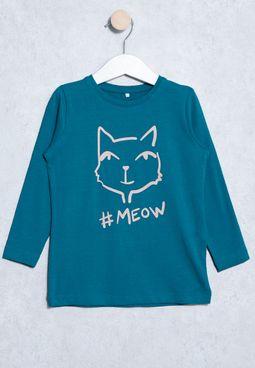 Kids Vixessa Printed T-Shirt