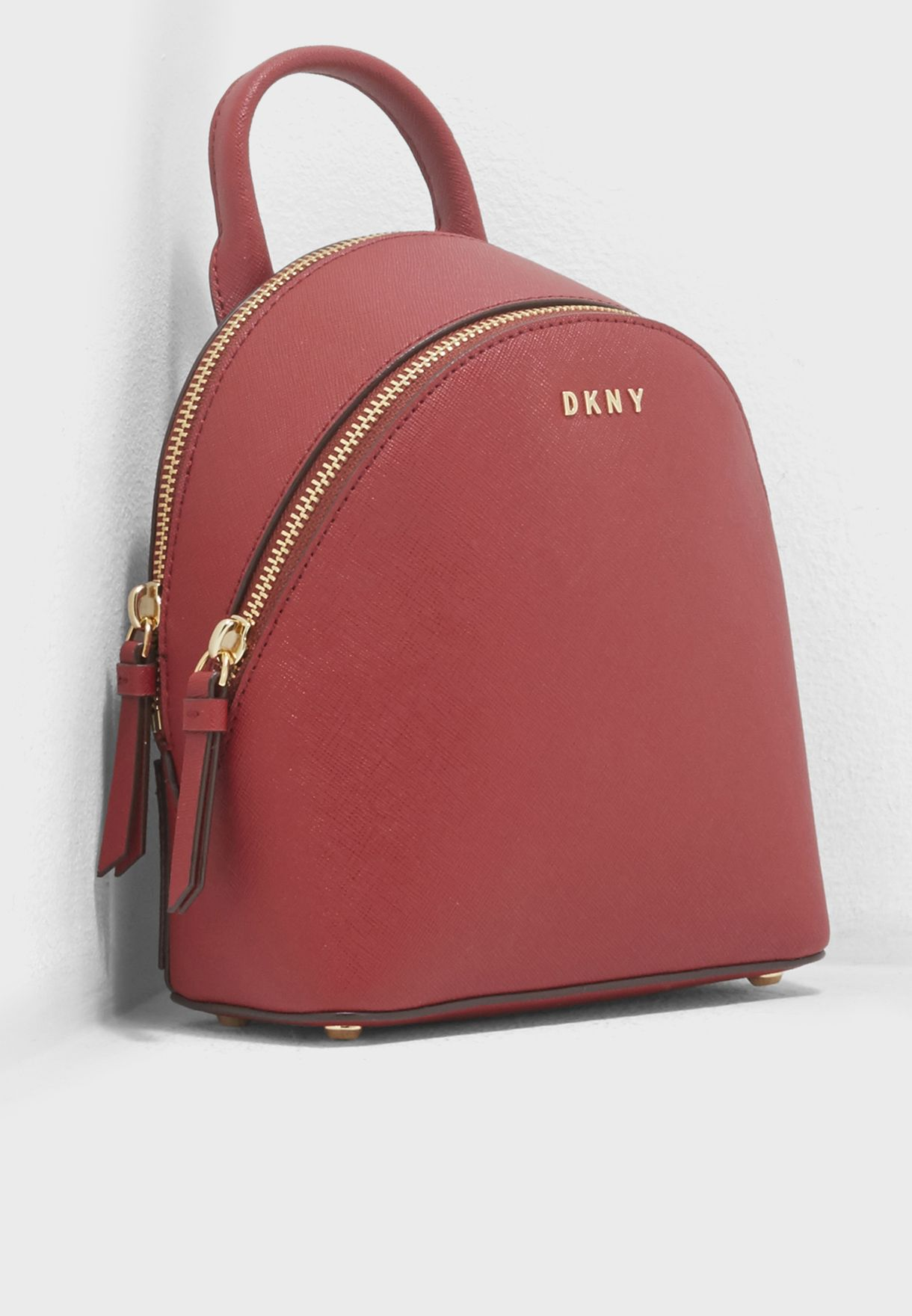 632a47853a Shop DKNY red Mini Backpack Crossbody R74K1007 for Women in UAE ...
