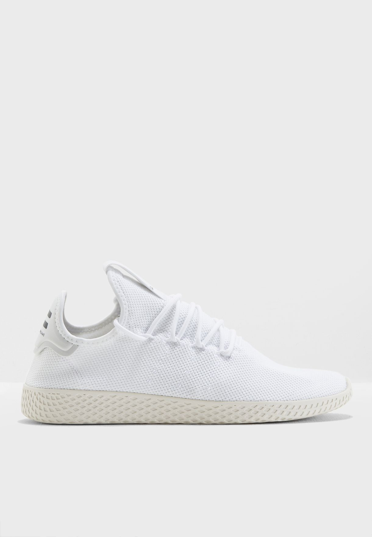 bf132368f666c Shop adidas Originals white Pharrell Williams Tennis Hu B41792 for ...