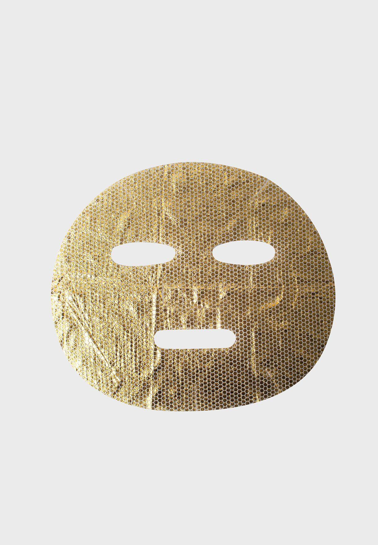 ماسك الذهب لبشرة مشرقة