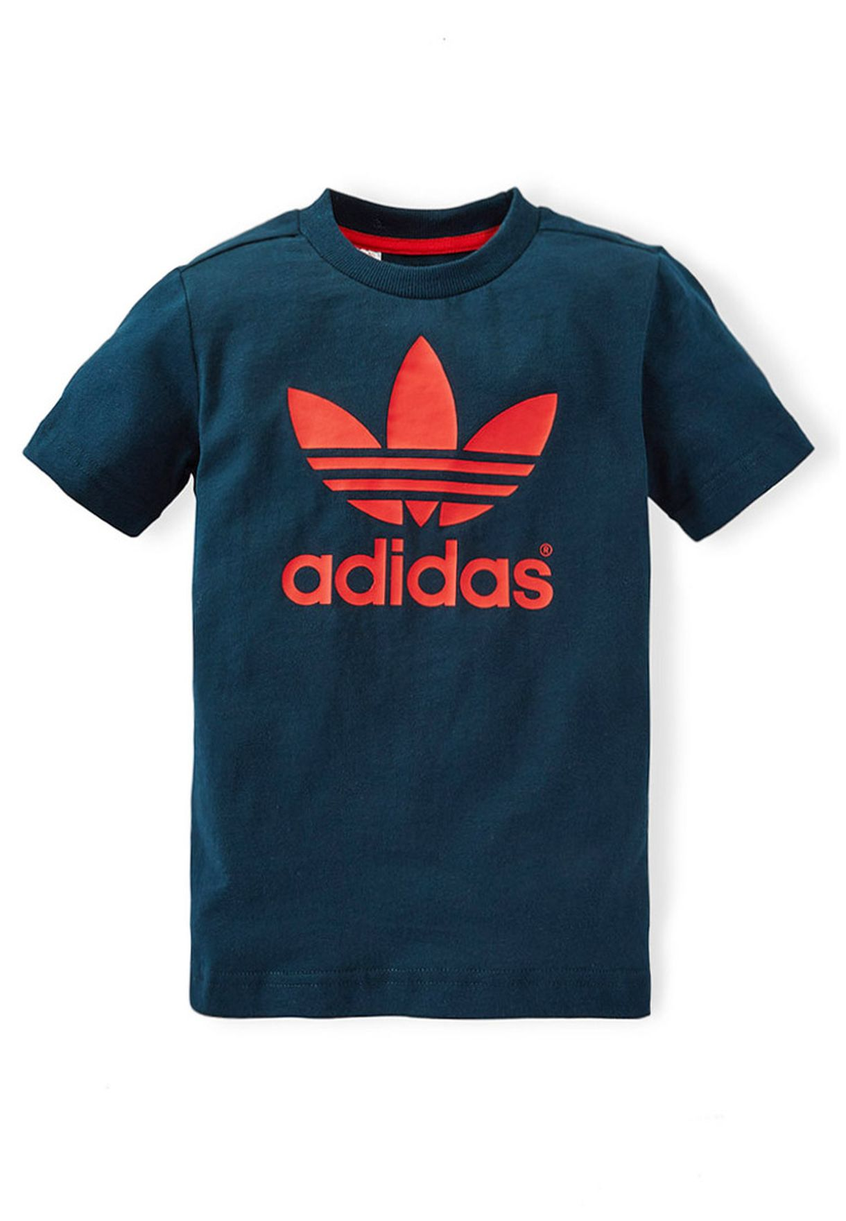 Shop adidas Originals green Youth Trefoil T-Shirt S14414 for Kids in Kuwait  - AD478AT55IRO 10191787ad